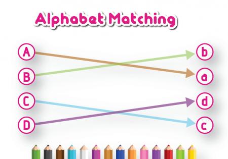 alphabet-matching-background