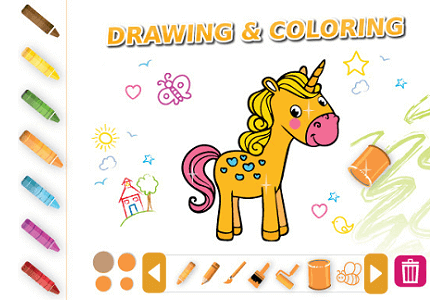 Drawing & Coloring Extra
